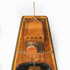 A working model of a steam launch Circa 1920 - 2134421