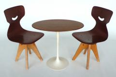 ADAM Stegner Pair of Modernist Bentwood Adam Stegner Childrens Chairs Pagho 1960s - 303119