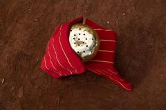 ADN Studio Ana Hernandez Xhigagueta Yachii Gourd with 24 Karat Gold Leaf - 1416788