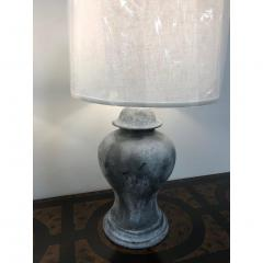 ANTIQUE ENGLISH METAL URN LAMPS A PAIR - 1046728