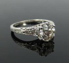 ANTIQUE OLD EUROPEAN CUT DIAMOND ENGAGEMENT RING 1 25 CTS - 1104855