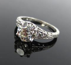 ANTIQUE OLD EUROPEAN CUT DIAMOND ENGAGEMENT RING 1 25 CTS - 1104858