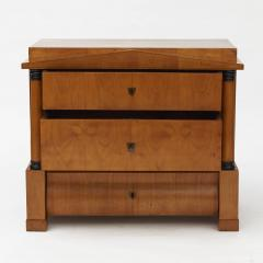 ARCHITECTURAL BIEDERMEIER CHEST OF DRAWERS 1820 1830 - 2129565