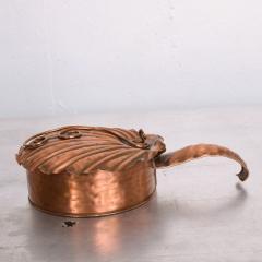 ART DECO Silent Butler Box Flip Top Crumb Catcher 1960s Gregorian Copper - 1606150