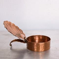 ART DECO Silent Butler Box Flip Top Crumb Catcher 1960s Gregorian Copper - 1606156