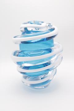 ART GLASS VASE BY MARTIN POTSCH - 2006559