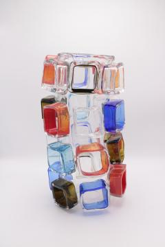 ART GLASS VASE BY MARTIN POTSCH - 2007260