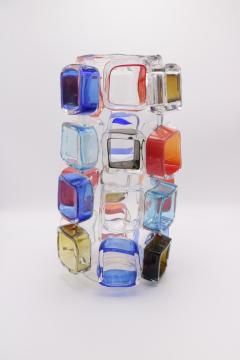 ART GLASS VASE BY MARTIN POTSCH - 2007261