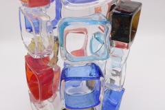 ART GLASS VASE BY MARTIN POTSCH - 2007263