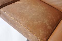 Aage Christensen Aage Christiansen Danish Leather Sofa 1960s - 394161