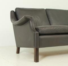 Aage Christensen Aage Christiansen Three seater Sofa in Dark Brown Leather - 1703669