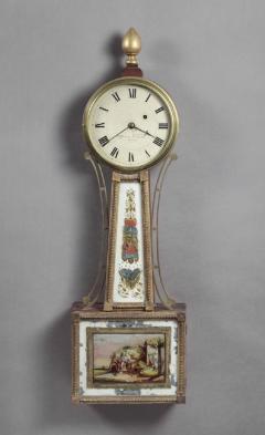 Aaron Willard FEDERAL BANJO CLOCK With Works by Aaron Willard - 1395707