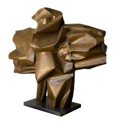 Abbott Pattison Abbott Pattison Sculpture Abstract Bronze Titled Flight 1977 Large Scale - 1570249