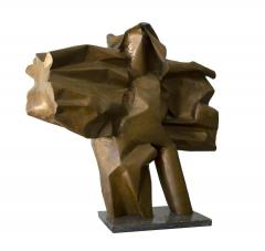 Abbott Pattison Abbott Pattison Sculpture Abstract Bronze Titled Flight 1977 Large Scale - 1570250
