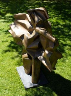 Abbott Pattison Abbott Pattison Sculpture Abstract Bronze Titled Flight 1977 Large Scale - 1570252