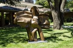 Abbott Pattison Abbott Pattison Sculpture Abstract Bronze Titled Flight 1977 Large Scale - 1570253