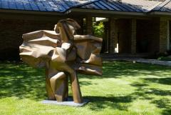 Abbott Pattison Abbott Pattison Sculpture Abstract Bronze Titled Flight 1977 Large Scale - 1570254