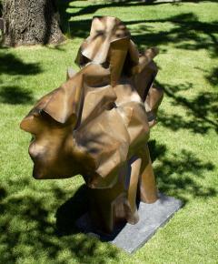 Abbott Pattison Abbott Pattison Sculpture Abstract Bronze Titled Flight 1977 Large Scale - 1570258