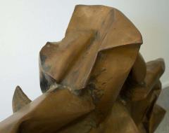 Abbott Pattison Abbott Pattison Sculpture Abstract Bronze Titled Flight 1977 Large Scale - 1570261