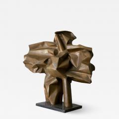 Abbott Pattison Abbott Pattison Sculpture Abstract Bronze Titled Flight 1977 Large Scale - 1572520