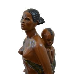 Abele Jacopi Abele Jacopi Ceramiche Lenci Abyssinian Mother 30s - 1824434