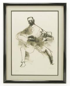 Abraham Rattner Abraham Rattner Black and White Limited Print Signed - 72558