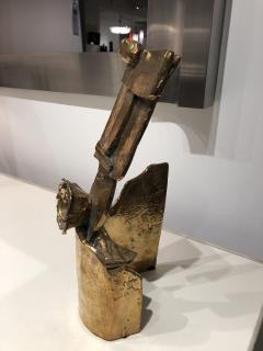 Abstract Bronze Sculpture Figure Flower - 1630174