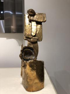 Abstract Bronze Sculpture Figure Flower - 1630178