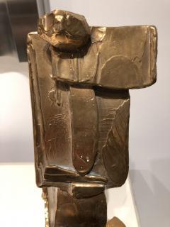 Abstract Bronze Sculpture Figure Flower - 1630180