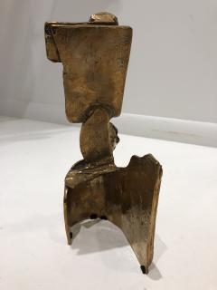 Abstract Bronze Sculpture Figure Flower - 1630199