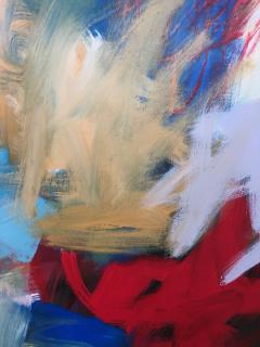 Abstract Expressionist Painting by Susan Morosky Neon Day Field 3 - 1853188