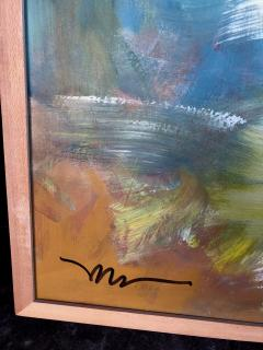 Abstract Expressionist Painting by Susan Morosky Neon Day Field 3 - 1853190