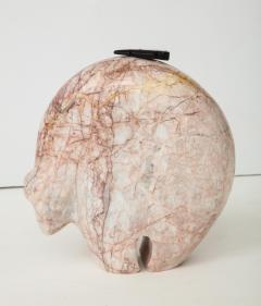 Abstract Pink Marble Bear Figure - 1637523
