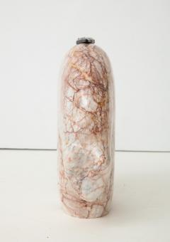 Abstract Pink Marble Bear Figure - 1637532