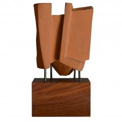 Abstract Sculpture In Terracotta Italy 1968 - 1956068