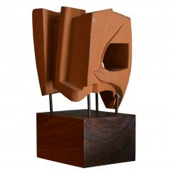 Abstract Sculpture In Terracotta Italy 1968 - 1956072