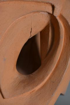 Abstract Sculpture In Terracotta Italy 1968 - 1956131