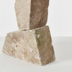 Abstract stone sculpture France late 20th century FOR HIRE ONLY - 1238160
