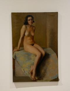 Academic Oil on Canvas of a Female Nude Circa 1930 - 1515366