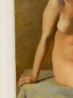 Academic Oil on Canvas of a Female Nude Circa 1930 - 1515367