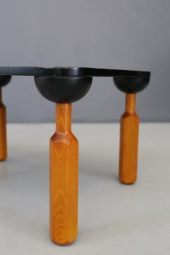 Achille Castiglioni Achille Castiglioni for Zanotta Side Table in lacquered wood published 1970s - 1127209