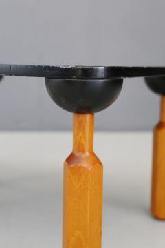Achille Castiglioni Achille Castiglioni for Zanotta Side Table in lacquered wood published 1970s - 1127210
