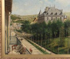Achille Ernest Mouret Achille Ernest Mouret 19th c French Villa Beausejour 1840 60 - 1185257