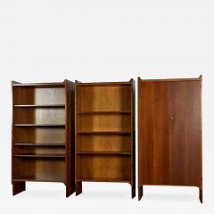 Achille Pier Giacomo Castiglioni Set of Three Mariano Bookshelves by Castiglioni For Gavina - 761722