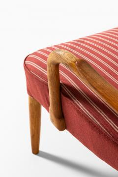Acton Schubell Easy Chairs and Stool Produced by E Sv Olsen - 1914779