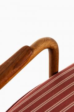 Acton Schubell Easy Chairs and Stool Produced by E Sv Olsen - 1914783