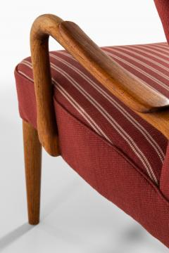 Acton Schubell Easy Chairs and Stool Produced by E Sv Olsen - 1914784