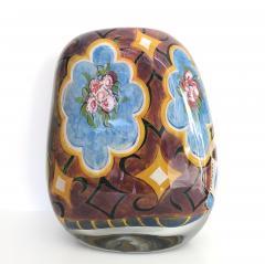 Ada Loumani Matisse Style Art Glass Vase - 1198154