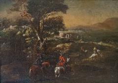 Adam Frans van der Meulen AFTER Horseback Riding an Oil Painting After Adam Frans Van Der Meulen - 1177724