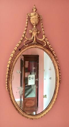 Adam Period Neoclassic Mirror - 1891462